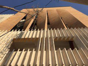 پروژه نمای آجری مجتمع اداری - اصفهان