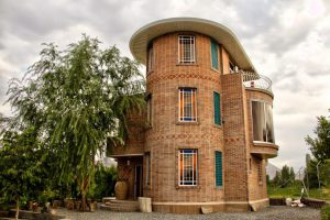پروژه ساختمان نما آجرنسوز - گلپایگان