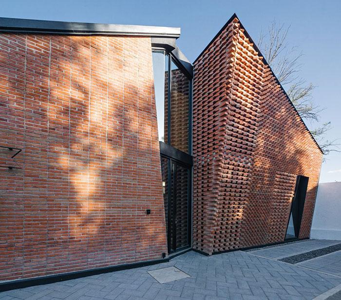 آجر پارامتریک در معماری هزاره جدید