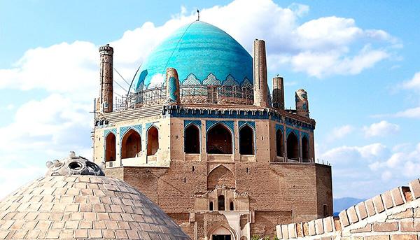 گنبد سلطانیه بزرگترین گنبد آجری دنیا