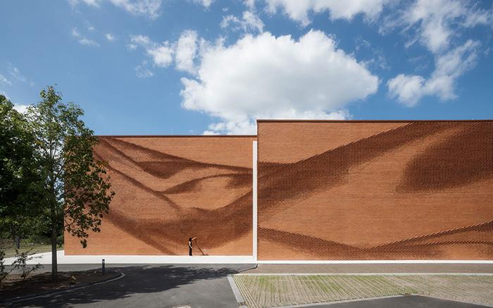 نمونه ای از کاندیدهای چایزه معماری آجری وینر برگر 2020