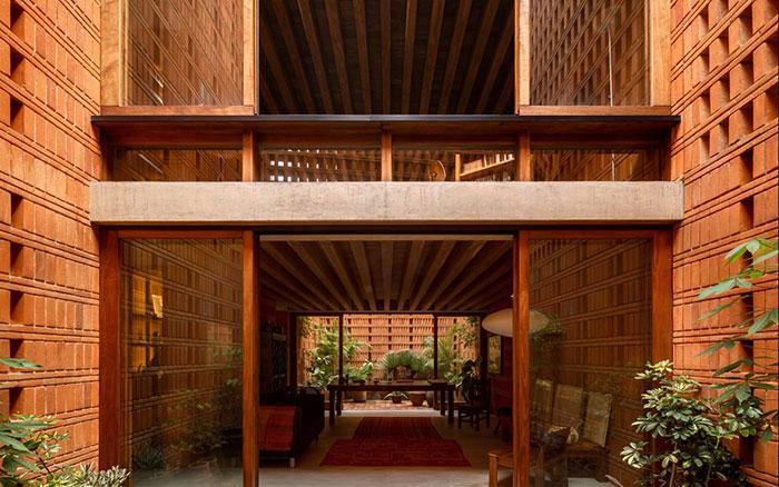 استودیو از برندگان معماری آجری وینر برگر 2020