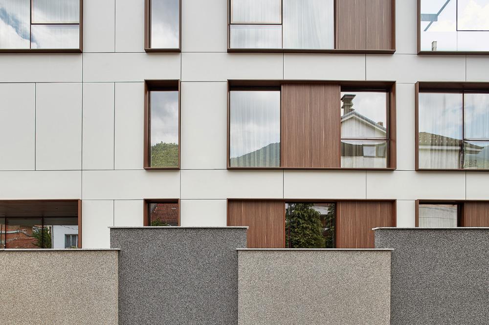 شفافیت بصری در نما ساختمان
