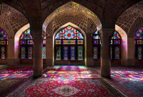 مسجد نصیرالملک شیراز آثار ارزشمند معماری ایرانی