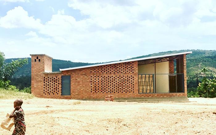 نمونه اولیه خانه دهکده برنده معماری آجری وینربرگر 2020
